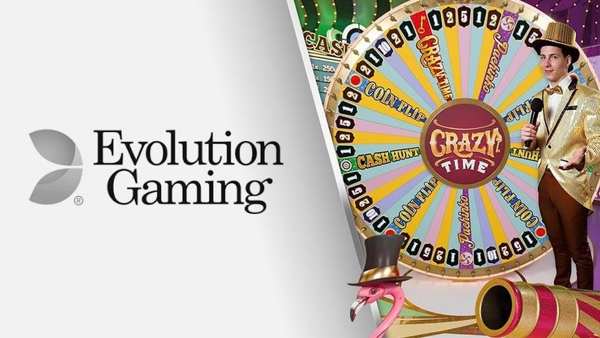 Crazy Time van Evolution Gaming keert 10,7 miljoen euro uit!-min